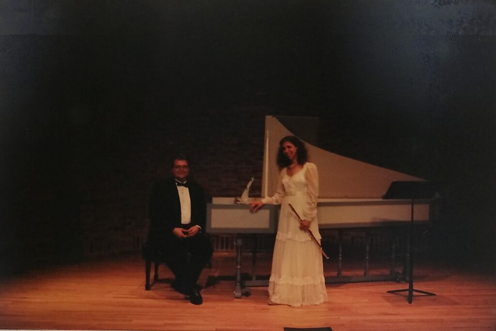 Flute and Harpsicord recital